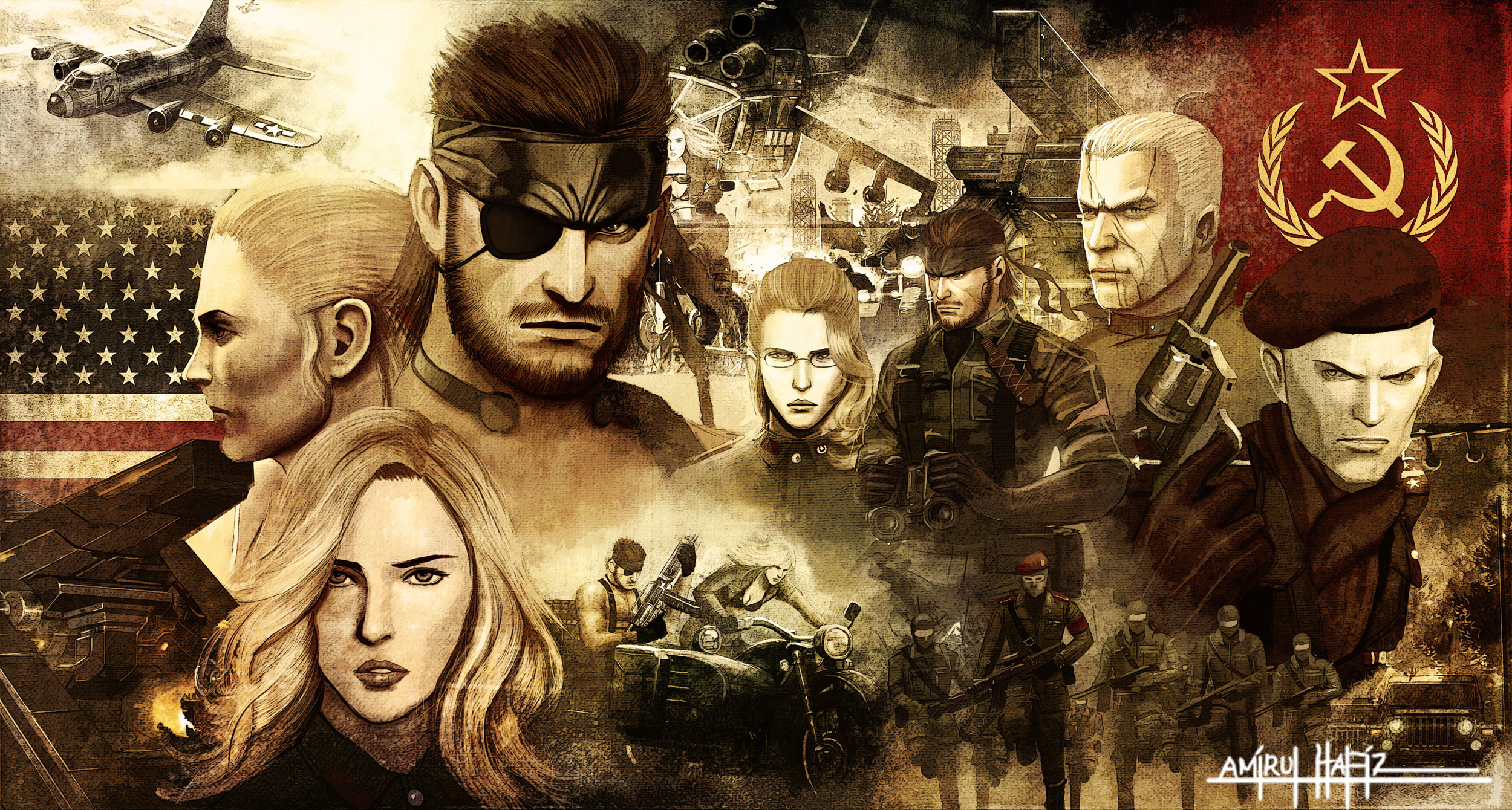 metal_gear_solid_3_snake_eater_poster_by_amirulhafiz-d5d1hd7.jpg - Metal Gear Solid 3: Snake Eater