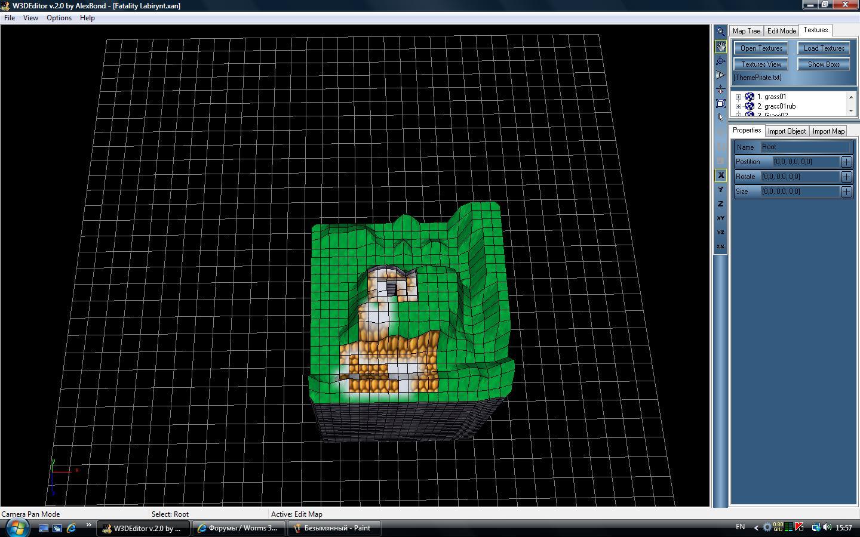 W3DEDITOR - Worms 3D