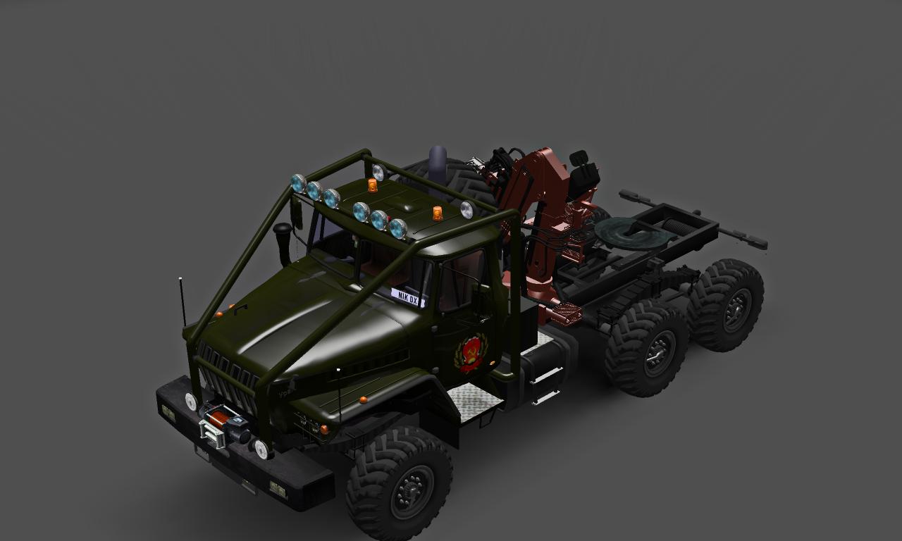 УРАЛ 43202 ПОЛЯРНИК - Euro Truck Simulator 2