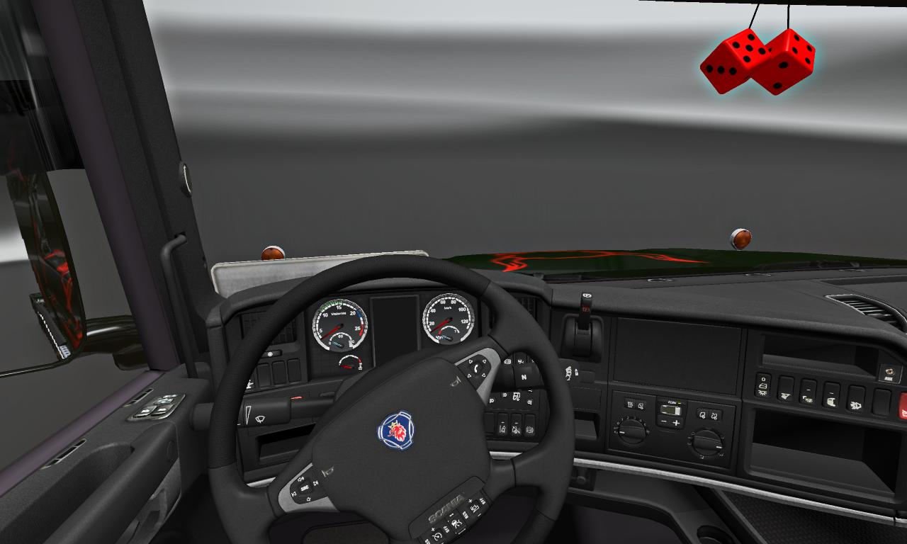 САЛОН SCANIA T - Euro Truck Simulator 2