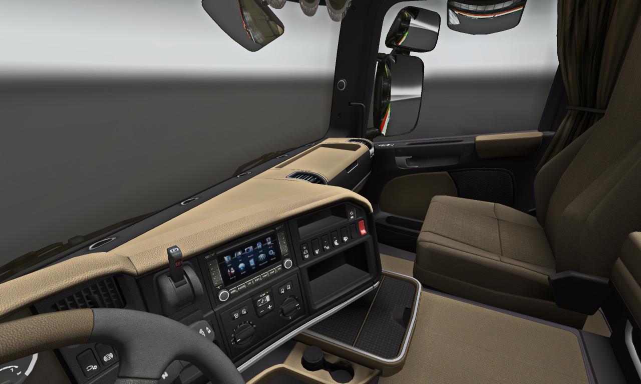 САЛОН SCANIA R2008 - Euro Truck Simulator 2