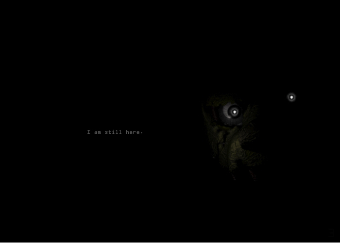"Фотография появилась давно на сайте Скотта ""Я всё ещё здесь"" - Five Nights at Freddy's 3 SpringBonni, SpringTrap"