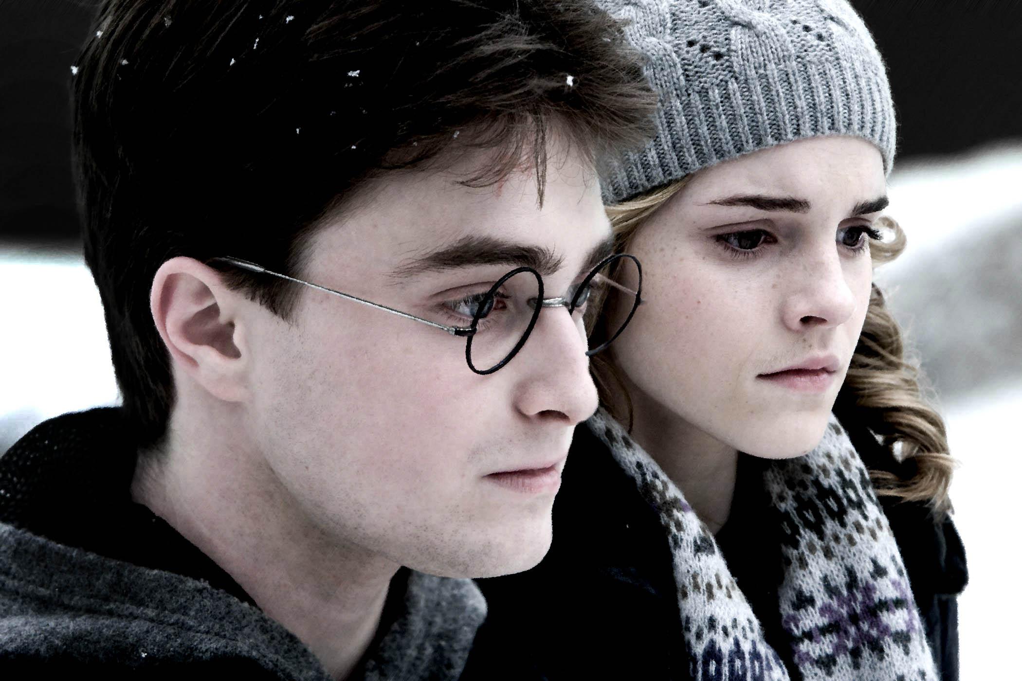Гарри и Гермиона - Harry Potter and the Half-Blood Prince