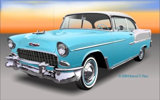 1957-Chevrolet-Bel-Air-Red-g-b-le - Mafia 2