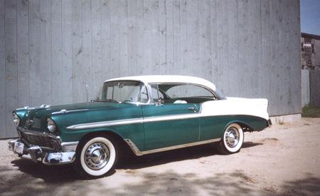 Chevy 1956 Belair - Mafia 2