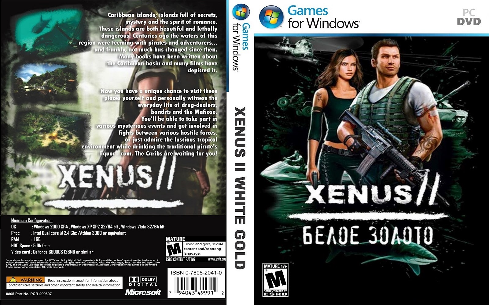 Xenus 2: Белое Золото - White Gold: War in Paradise