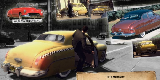 Mercury 1949 Taxi - Mafia 2