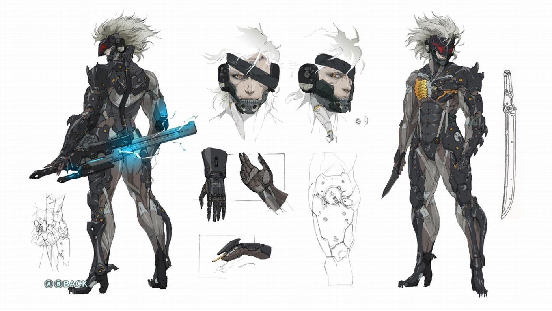 "Raiden ""Metal Gear Rising: Revengeance"" Minecraft Skin"