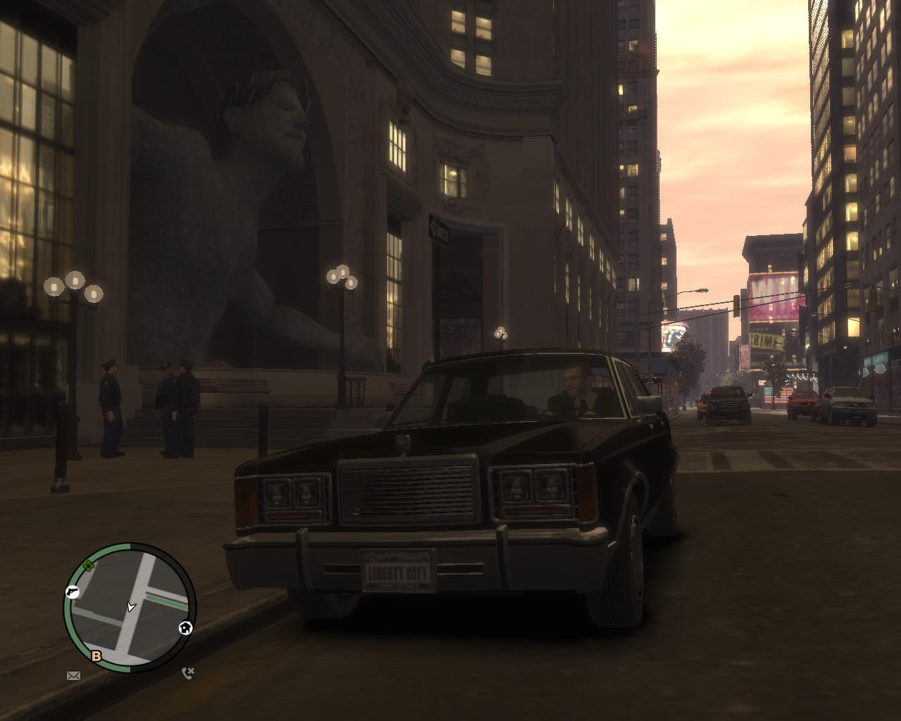 Люди в черном xD - Grand Theft Auto 4