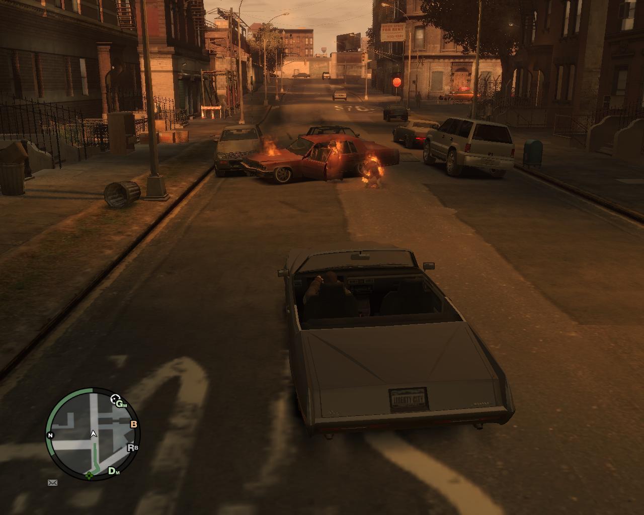 внезапное возгорание - Grand Theft Auto 4