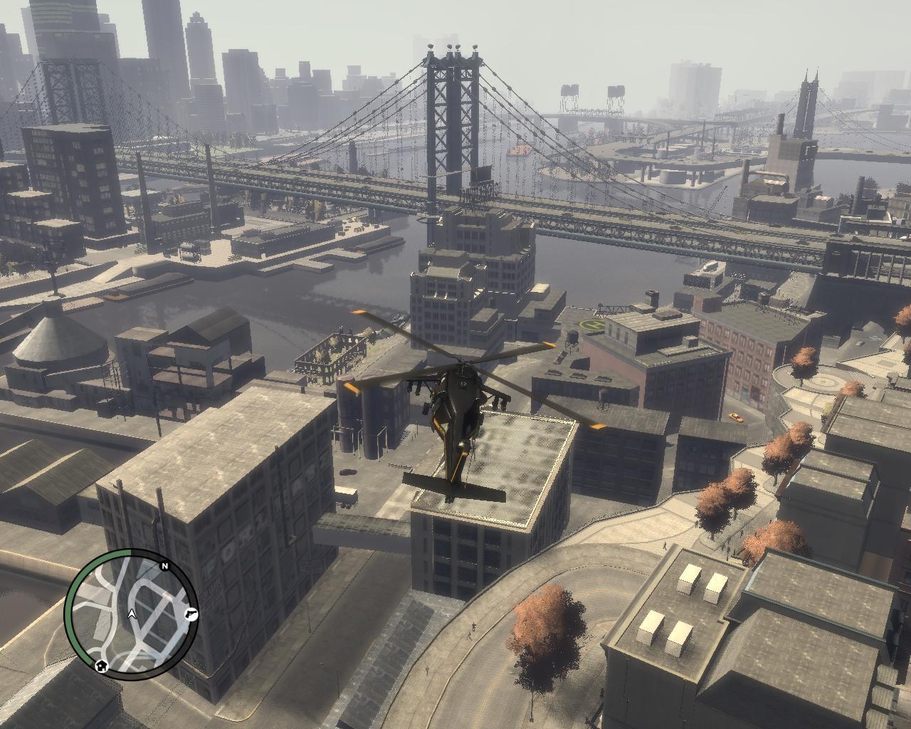 Красивый мостик - Grand Theft Auto 4