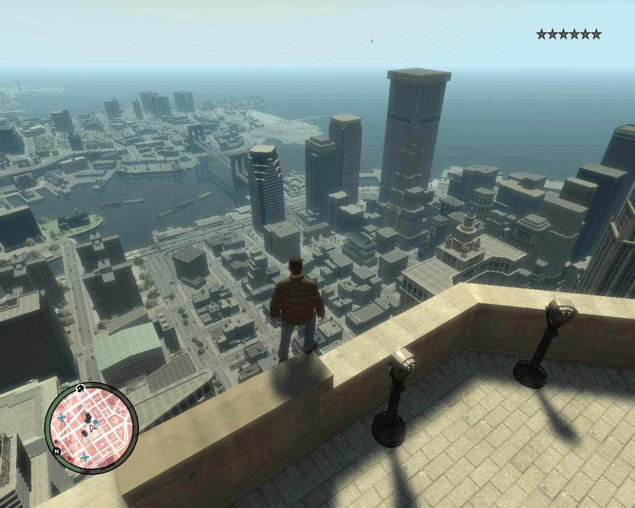 Ещё красивей фотка Либерти Сити - Grand Theft Auto 4