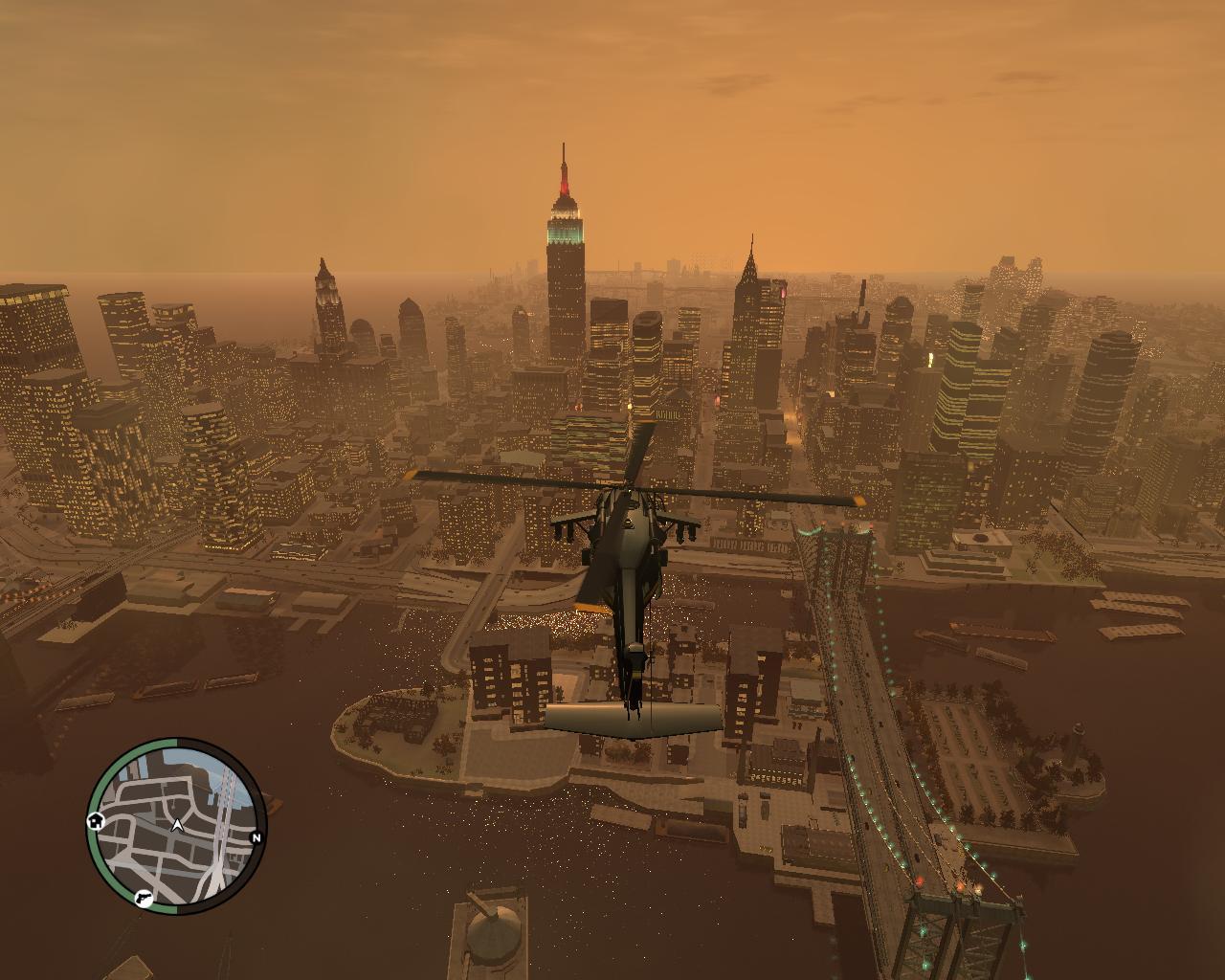 Вечерняя прогулка - Grand Theft Auto 4