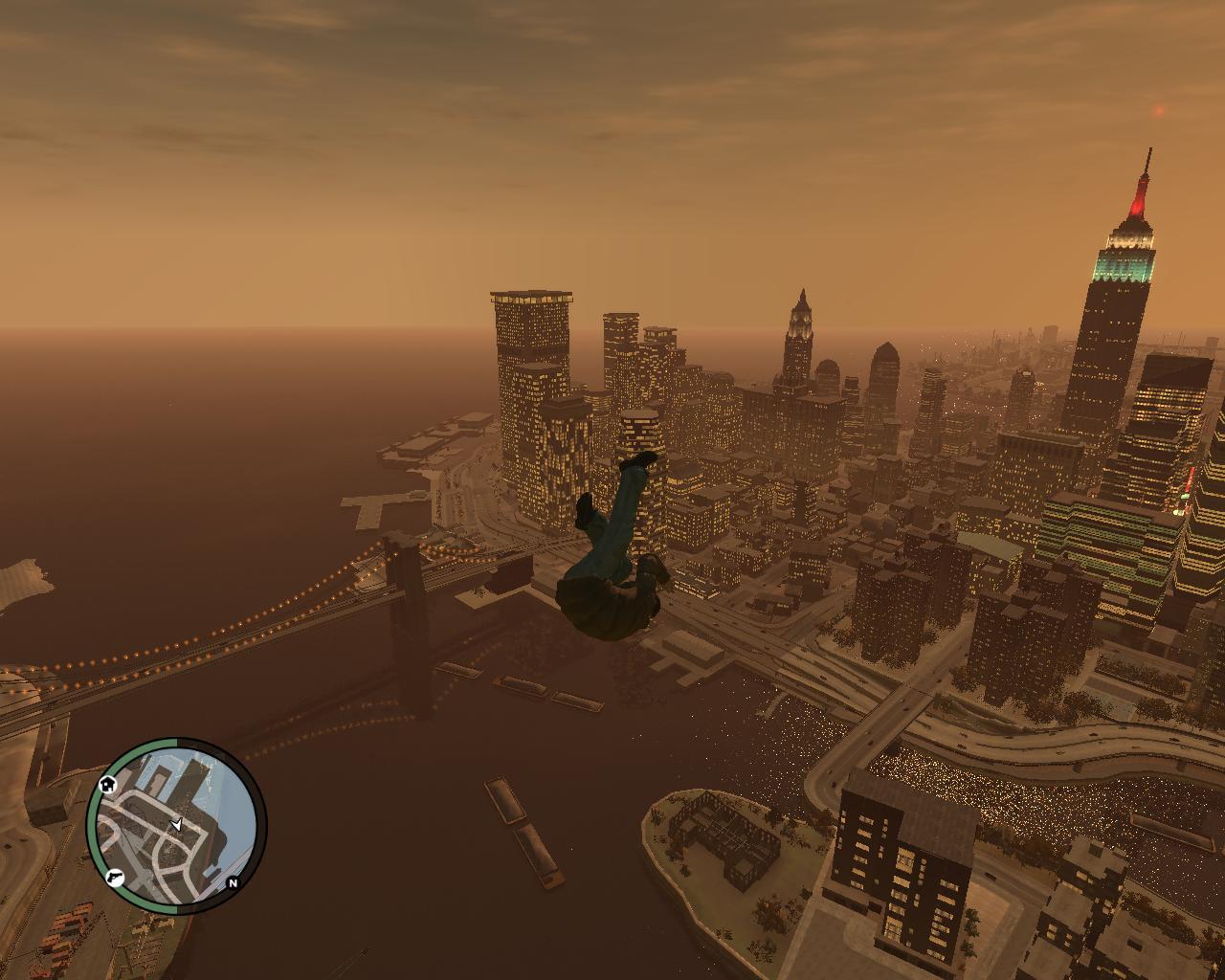 Ой,вывалился - Grand Theft Auto 4