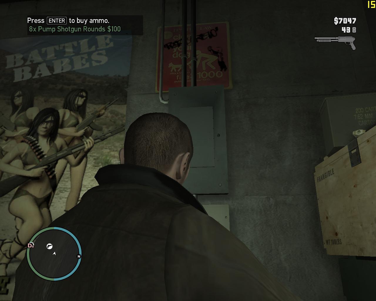 Ряд) - Grand Theft Auto 4
