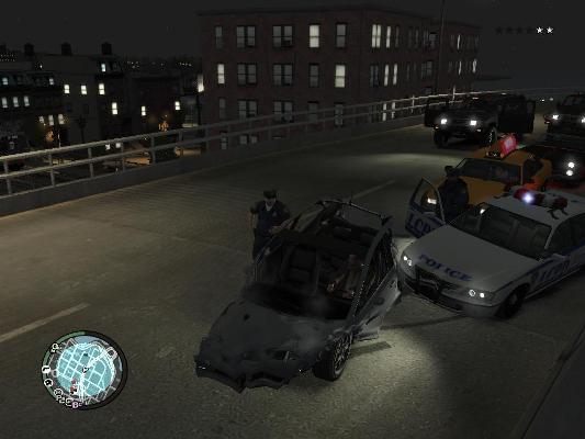 Раскурочил машинку - Grand Theft Auto 4