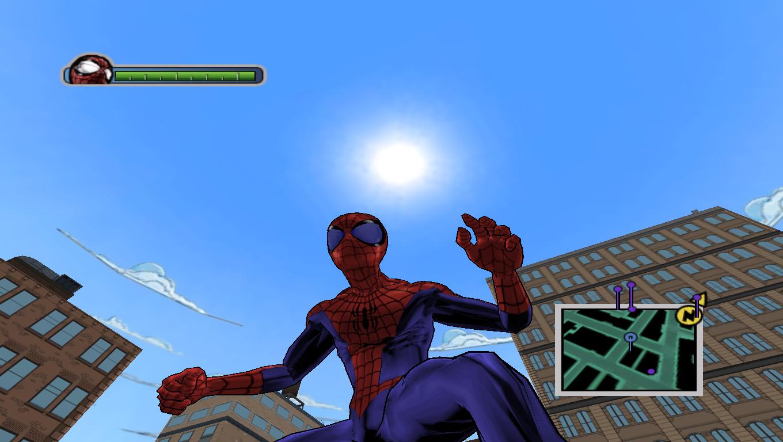 Gipnos Eyes - Ultimate Spider-Man Мод, Скин