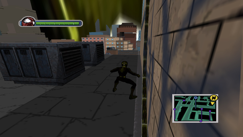 Gresi Web - Ultimate Spider-Man Мод, Скин