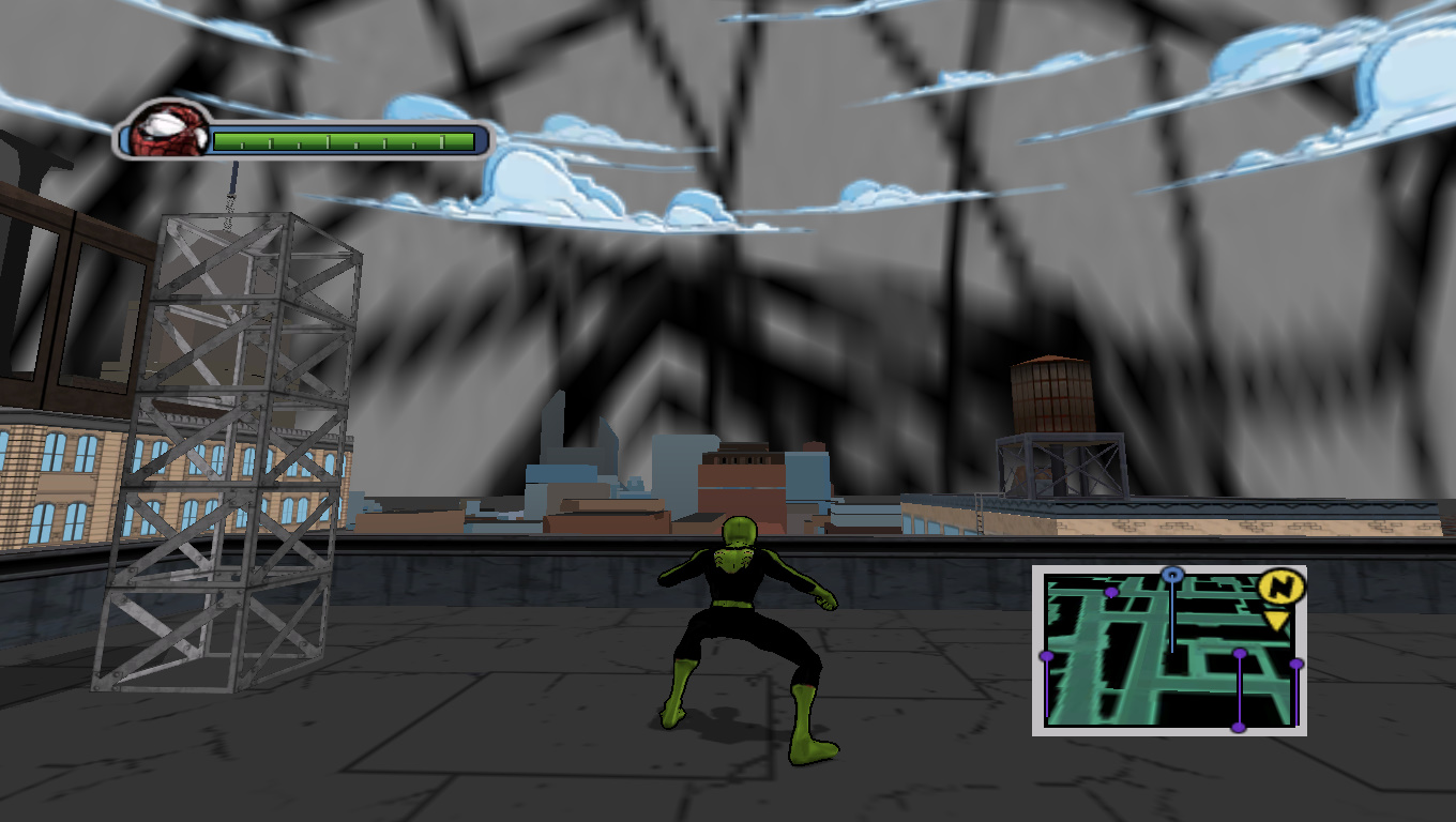 Juc Red - Ultimate Spider-Man Мод, Скин