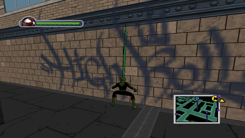 Juc Web - Ultimate Spider-Man Мод, Скин