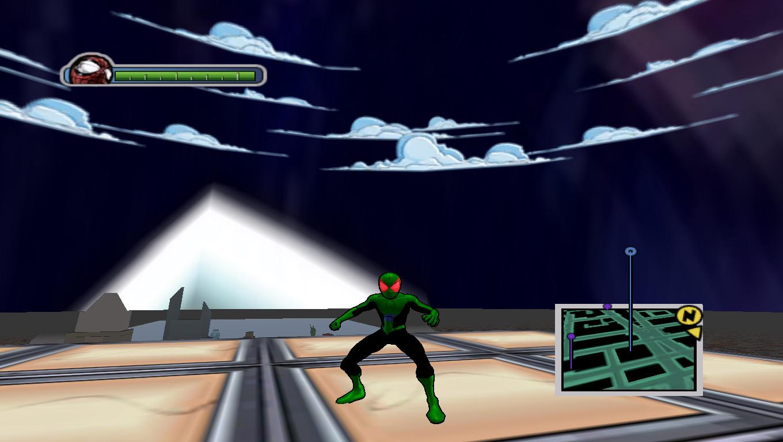 Robin Pauc Red - Ultimate Spider-Man Мод, Скин