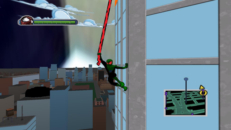 Robin Pauc Web - Ultimate Spider-Man Мод, Скин