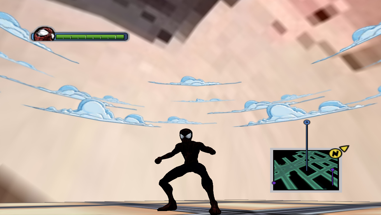 Simbiot Red - Ultimate Spider-Man Мод, Скин