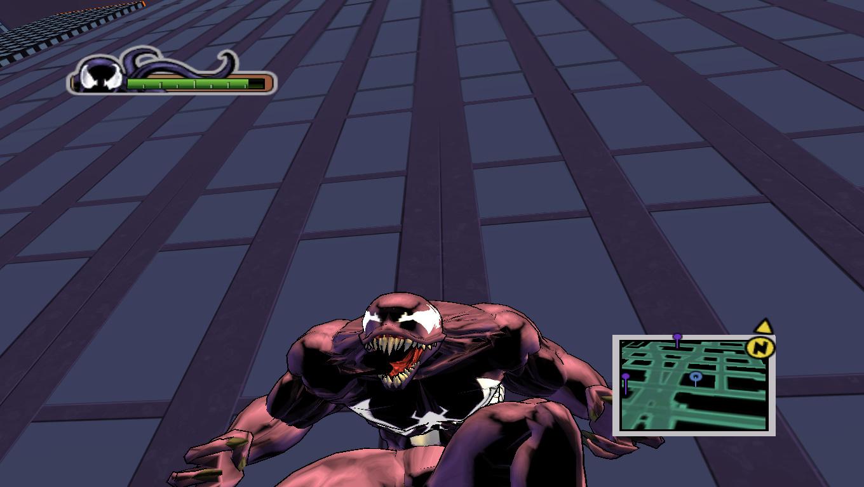 Simbiot Venom Clap - Ultimate Spider-Man Мод, Скин