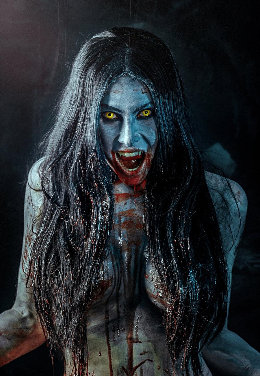 bruxa_cosplay__the_witcher__by_elena_neriumoleander-d8zxcra.jpg - The Witcher 3: Wild Hunt арт