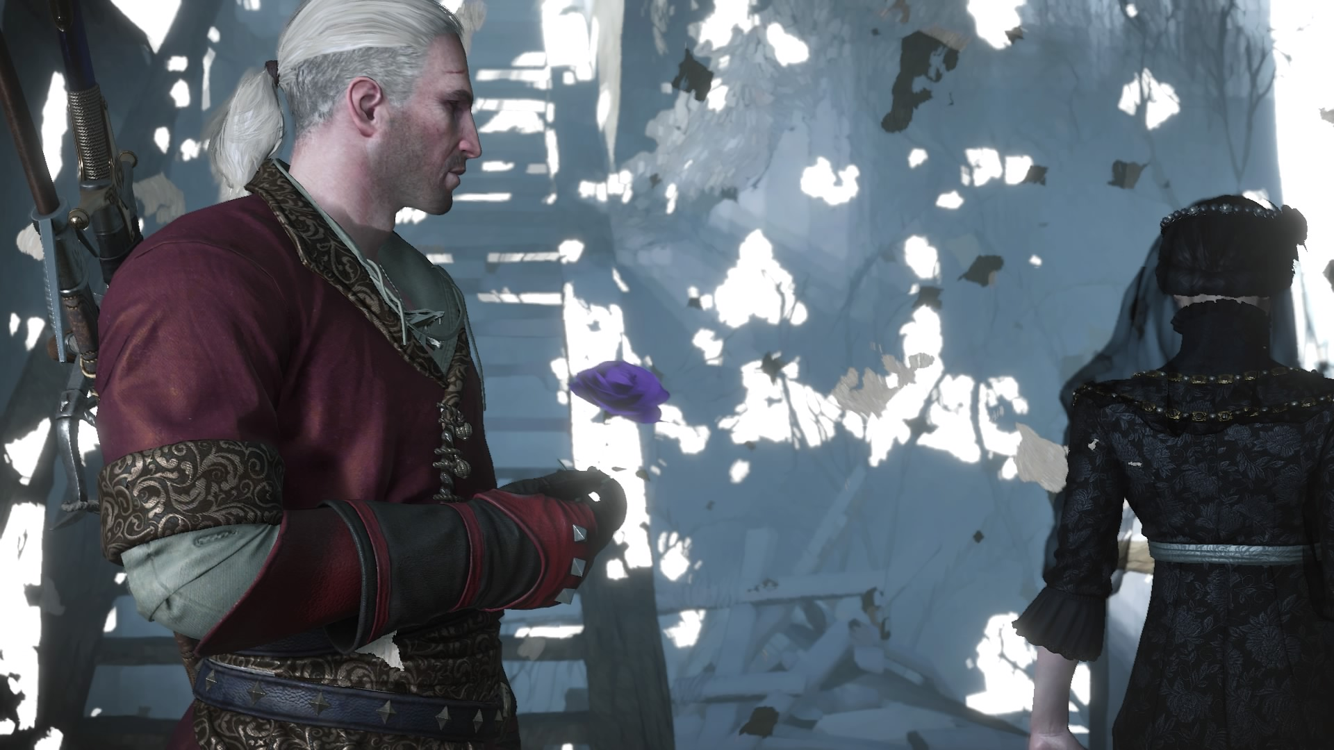 Геральт - Witcher 3: Wild Hunt, the DLC, Персонаж, Роза