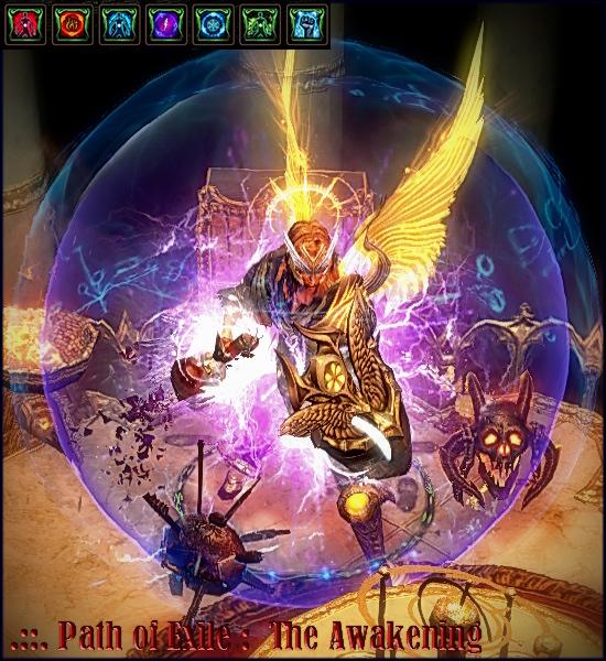 Morrah's Scion Lightning Strike_1 - Path of Exile