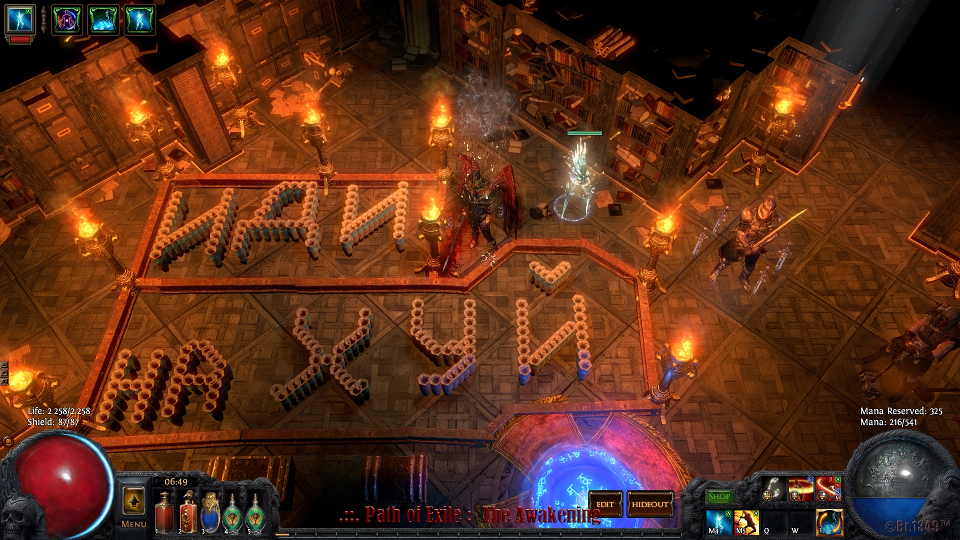 PathOfExile 2015-07-22 My HideOut - Path of Exile