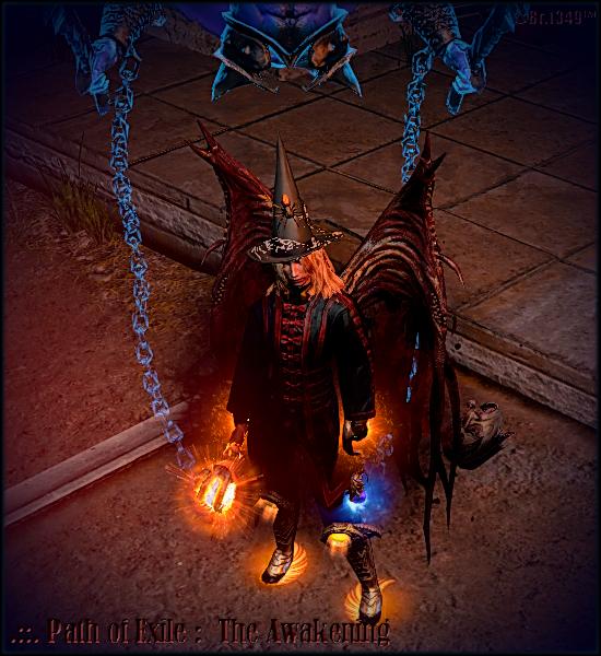 Morrah's Scion WanderThrow_1 - Path of Exile Online RPG, PoE