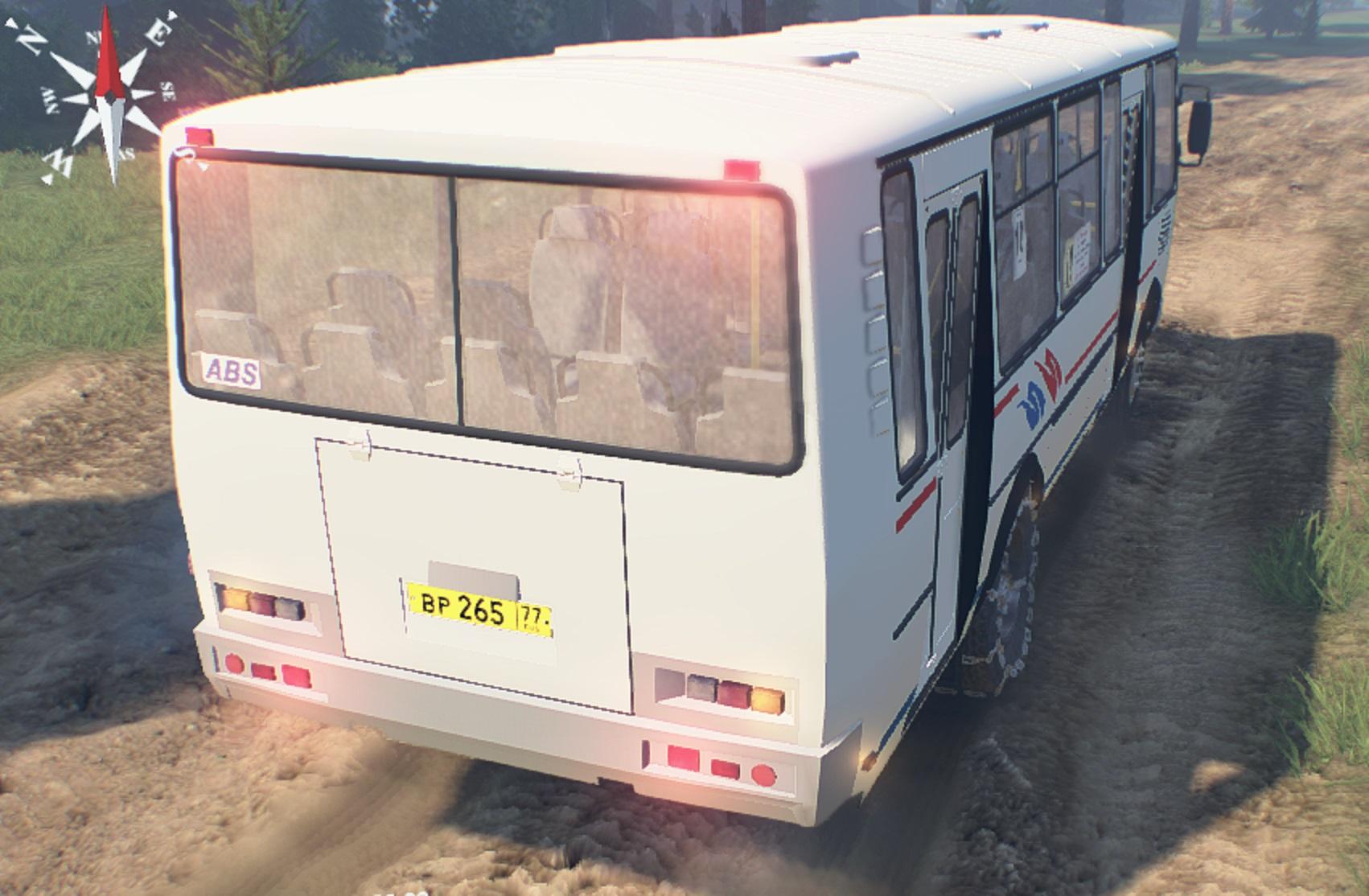 Автобус ПАЗ-4334 для версии 23.10.15 - Spintires
