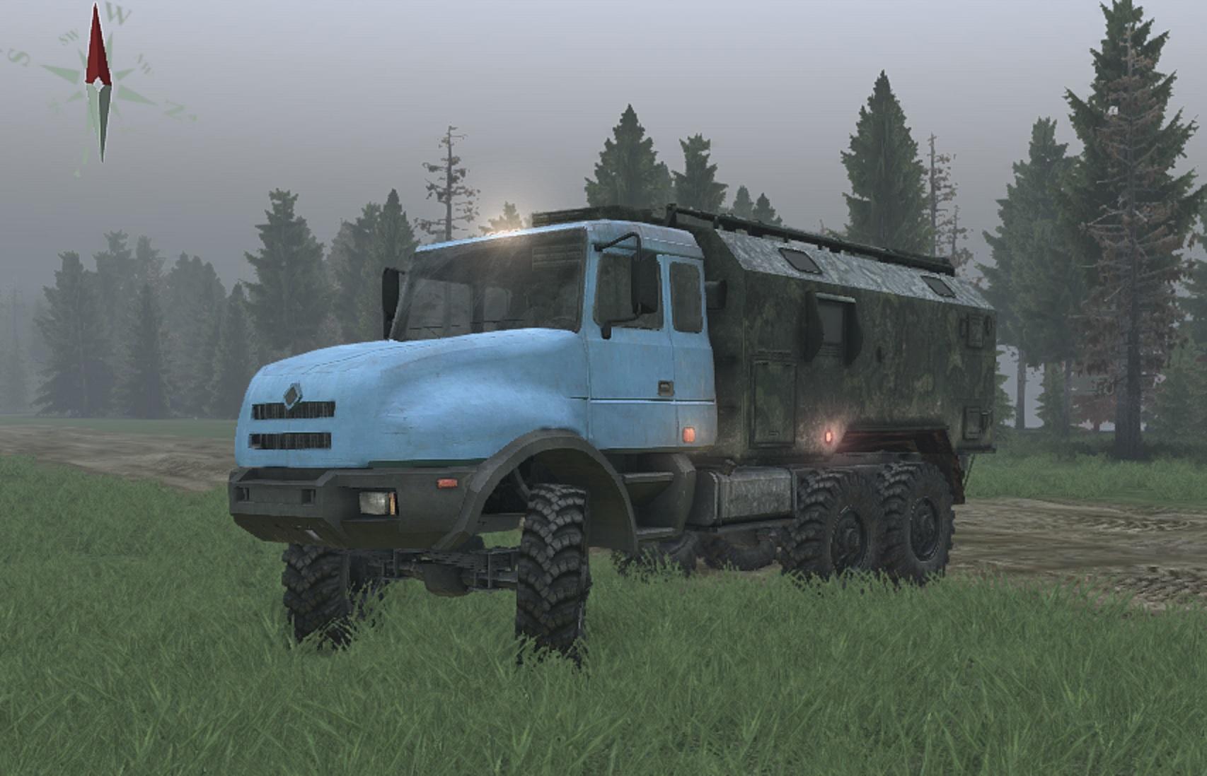 Урал 44202 для версии 23.10.15 - Spintires