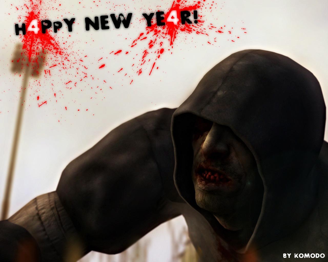H4PPY NEW YE4R! - Left 4 Dead