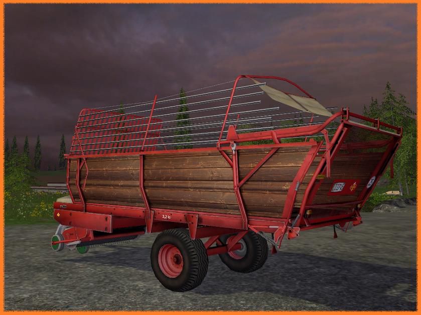 2. Фуражный прицеп Fortschritt_HTS3104 - Farming Simulator 15 Fortschritt_HTS3104