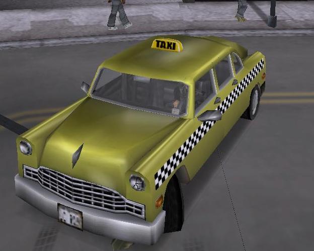 Кэбби - Grand Theft Auto 3