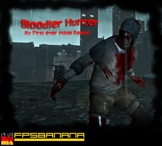 кровавый хантер - Left 4 Dead