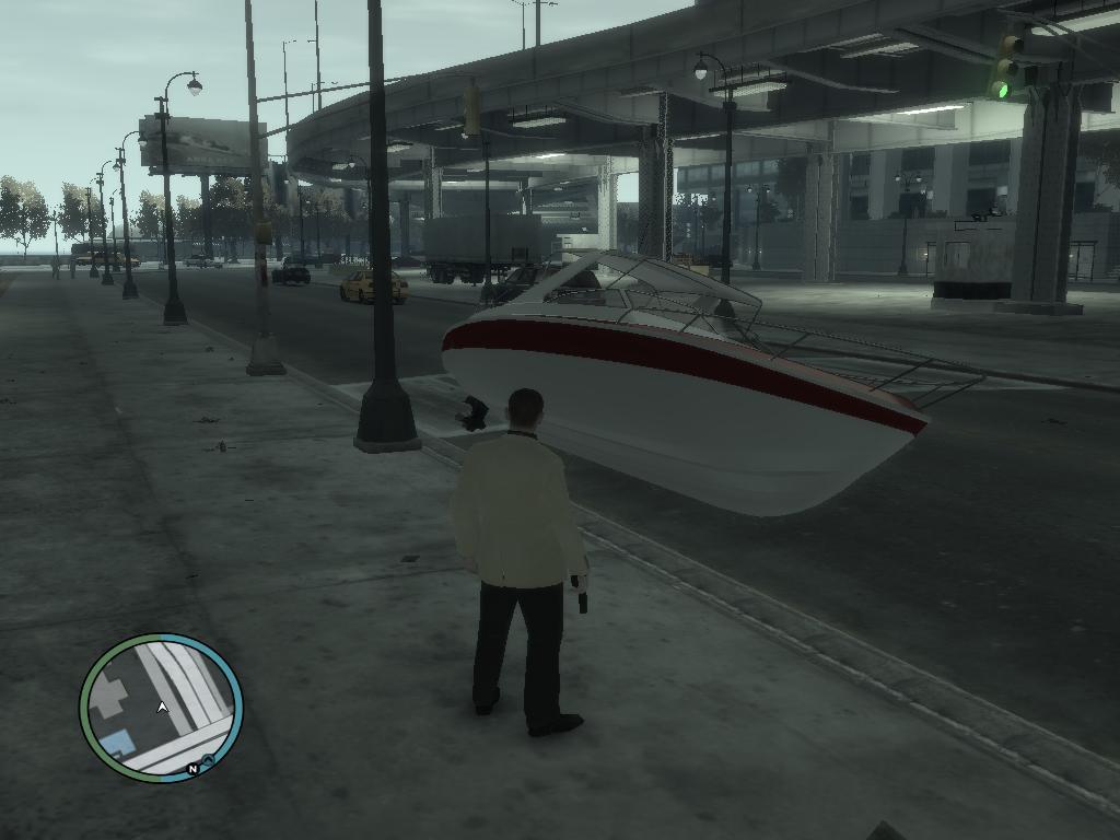 парковка - Grand Theft Auto 4