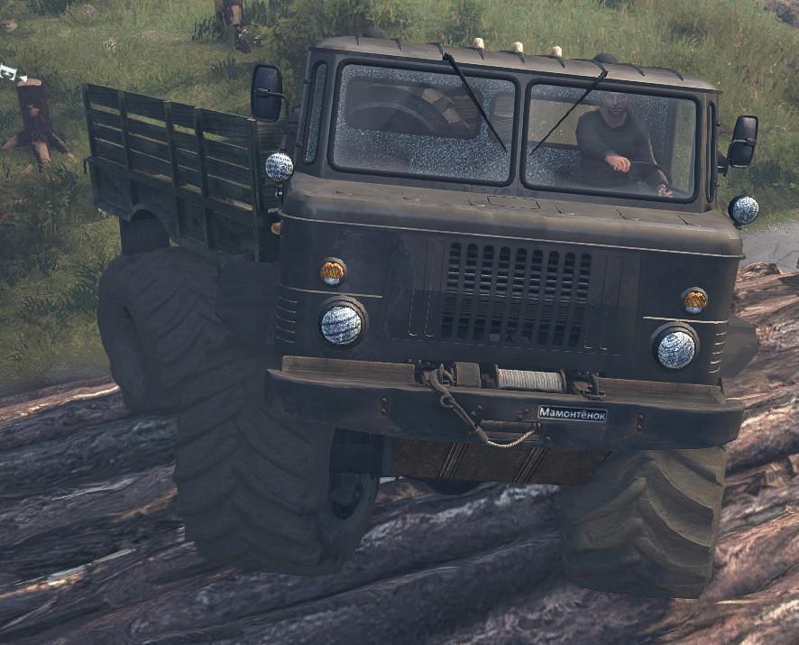 Мамонтенок ГАЗ-66 - Spintires