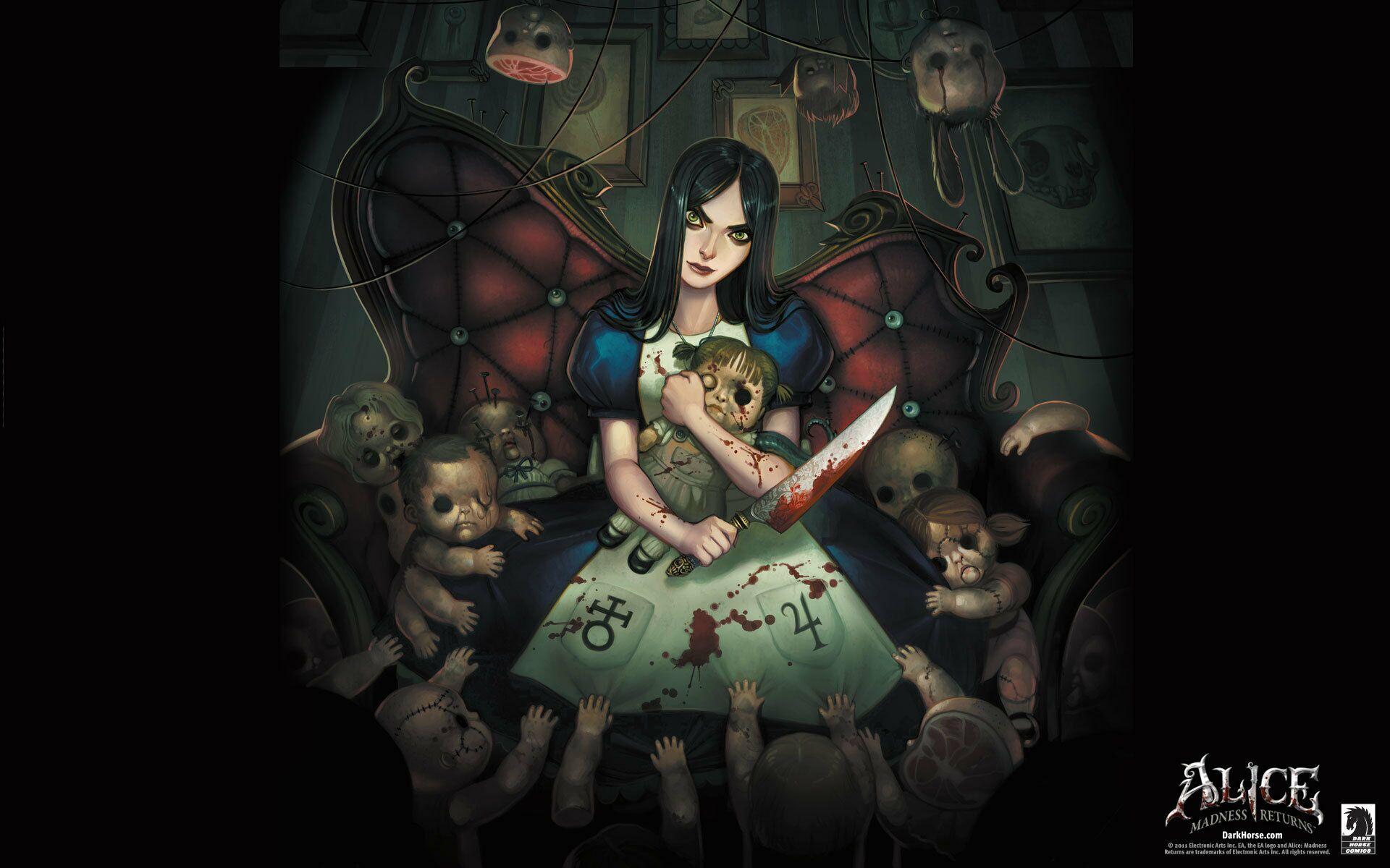Алиса в стране чудес картинки из игры