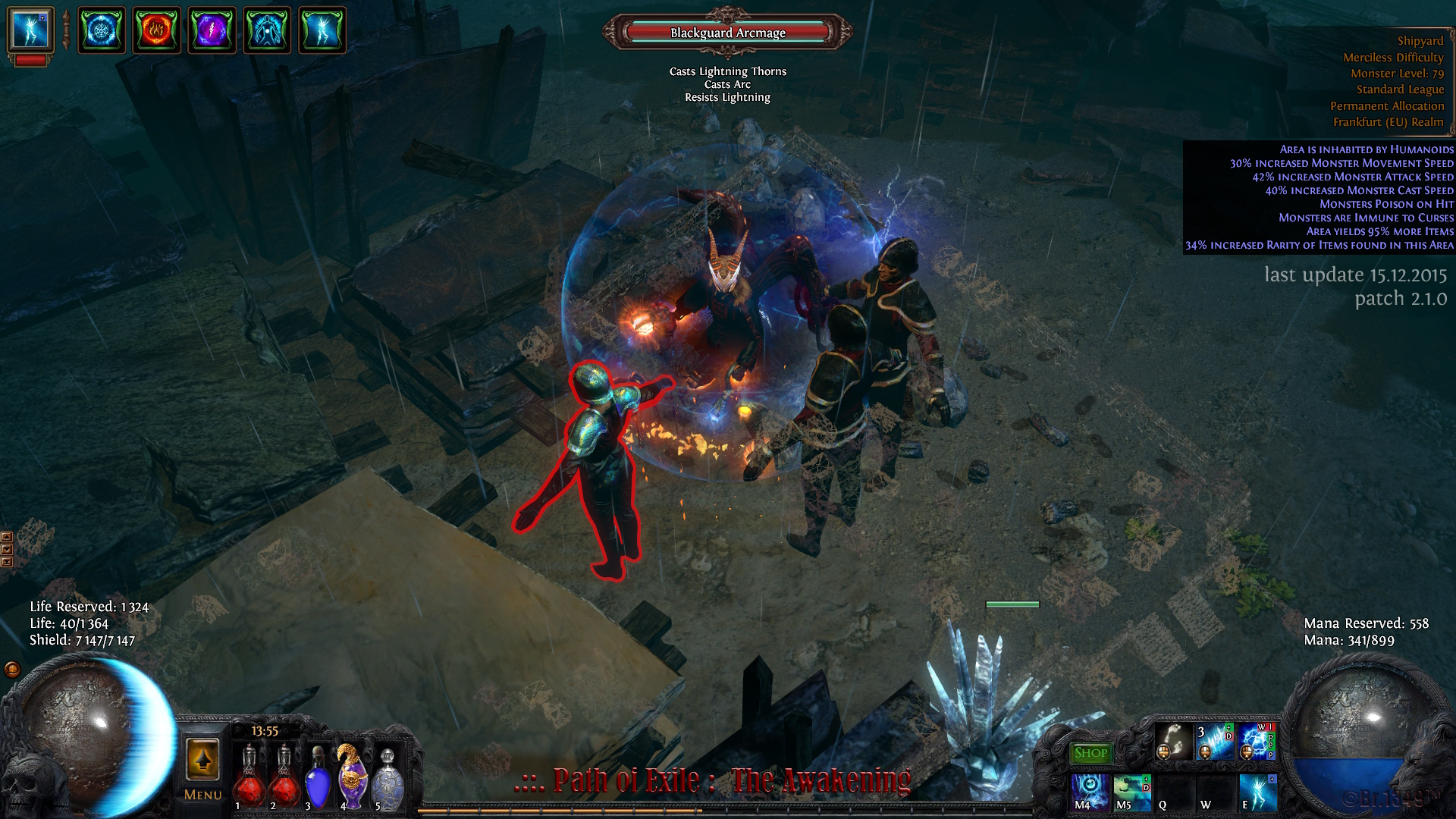 PathOfExile 2015-12-15 WTF freeze bug.jpg - Path of Exile