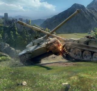 танки из игры World of Tanks