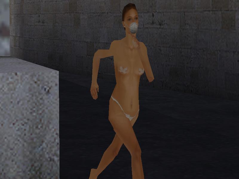 Девушка-ученый - Grand Theft Auto: San Andreas