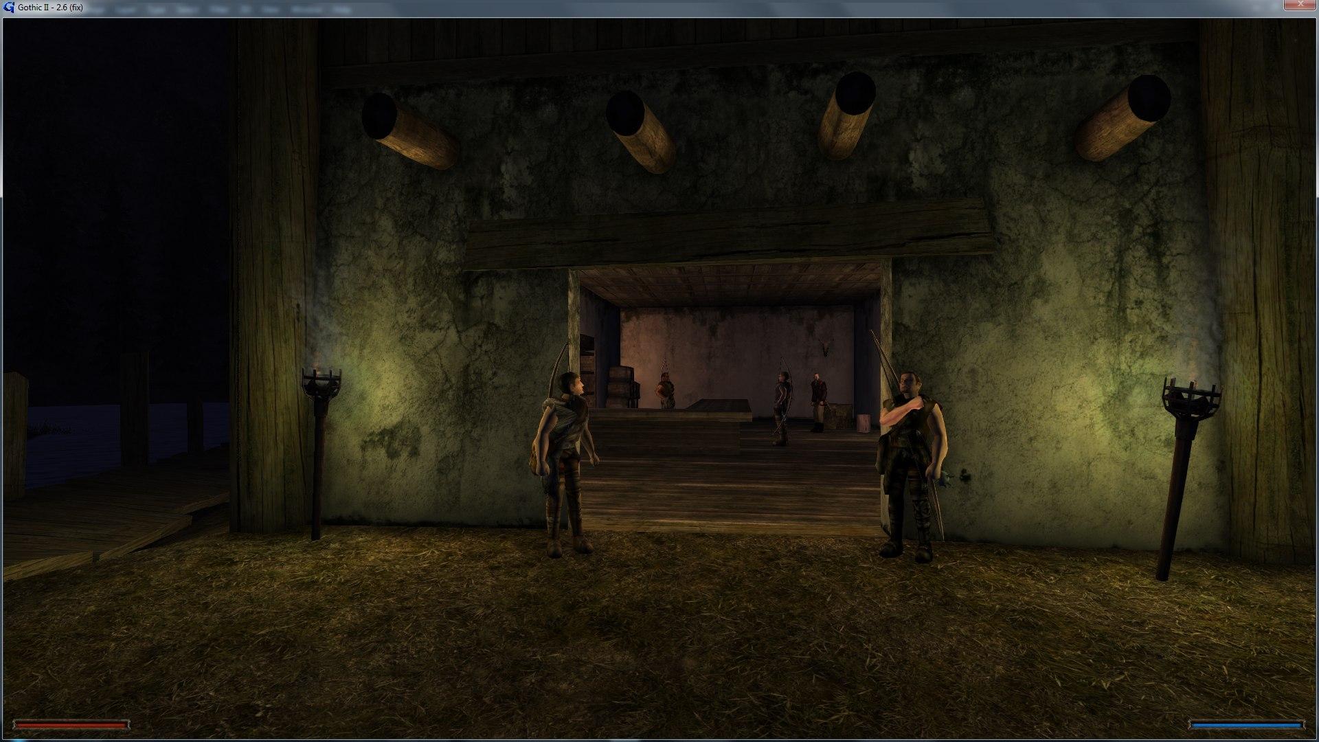 Порт Gothic 1 на движок Gothic 2 - Gothic