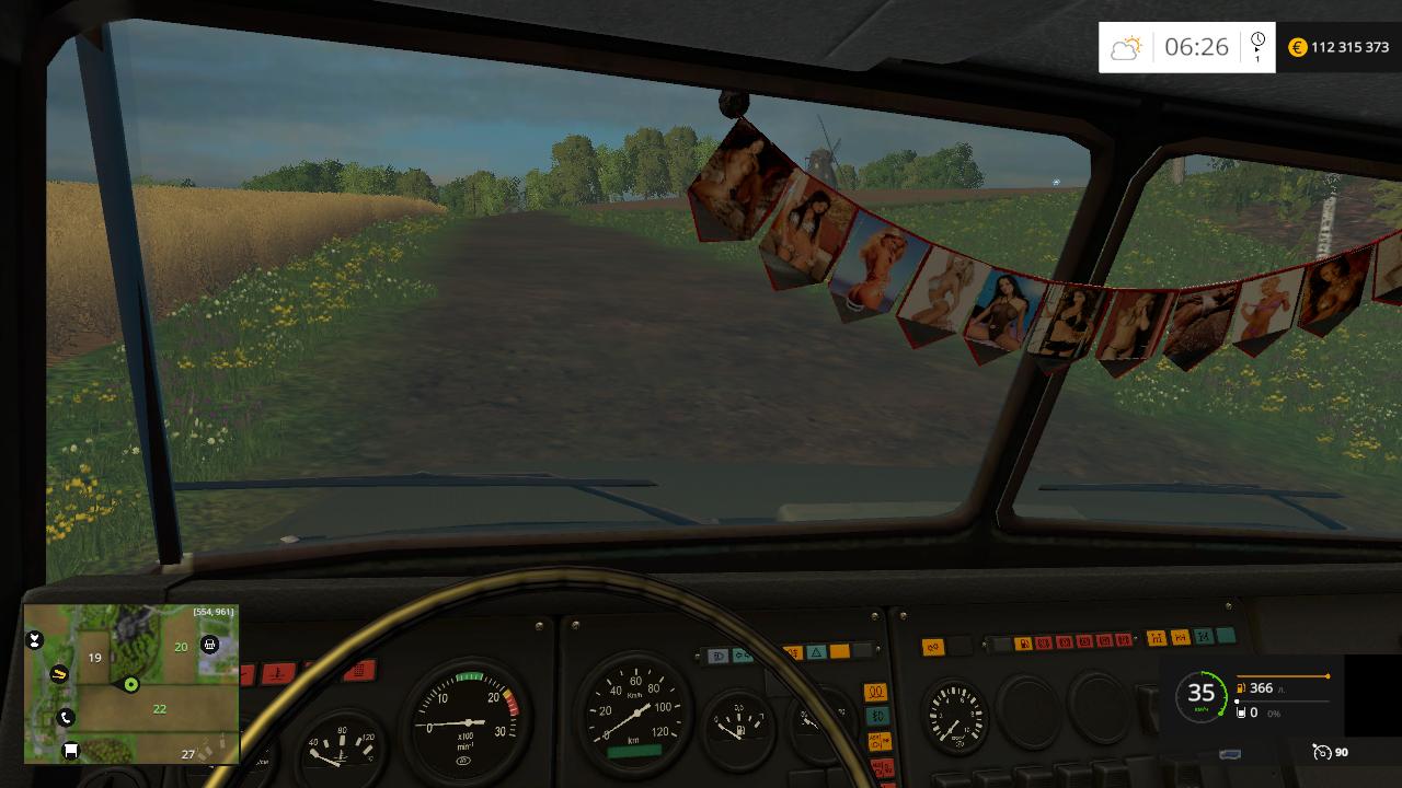 Краз V18. Борт - Farming Simulator 15 Мод, Транспорт