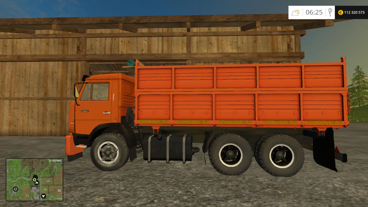 КАМАЗ 45143 - Farming Simulator 15 Мод, Транспорт