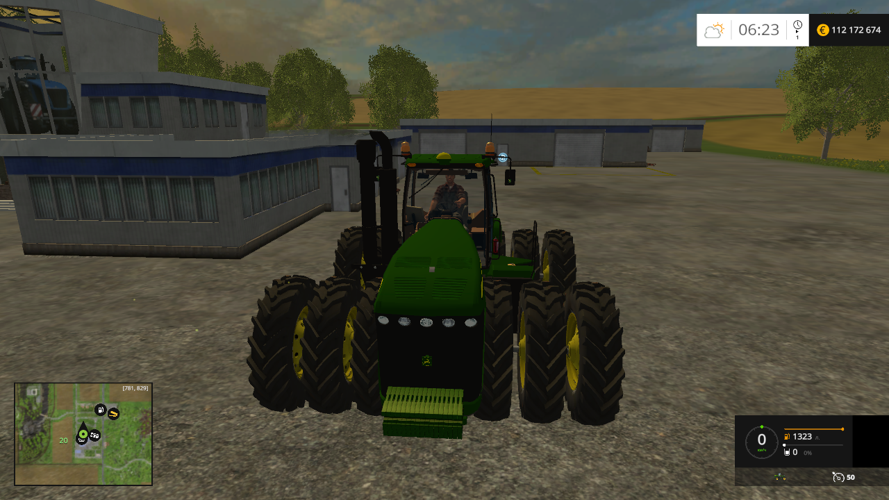 John Deere 9630 Selectable Wheels v4.0 - Farming Simulator 15 Мод, Транспорт