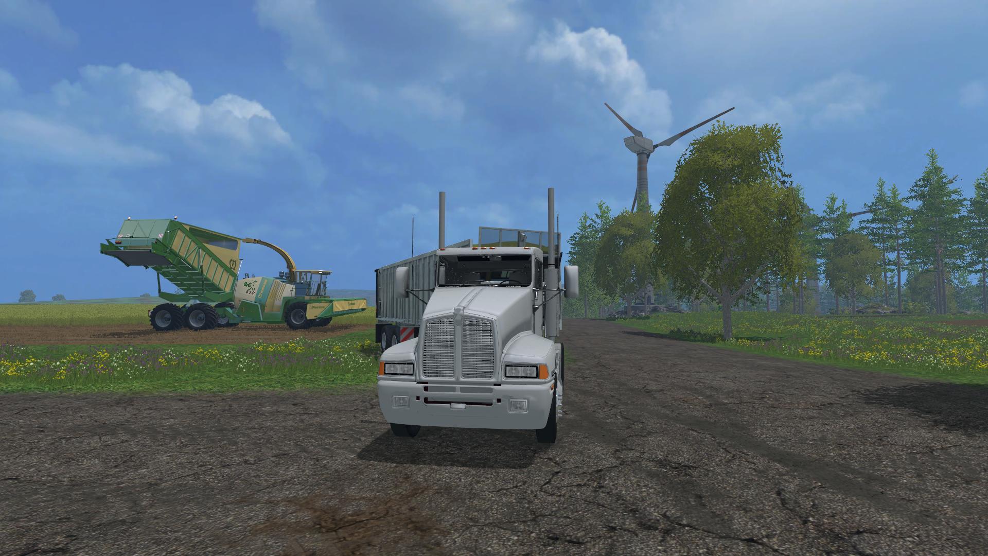 Большому комбайну большие просторы! - Farming Simulator 15 Farming Simulator 15